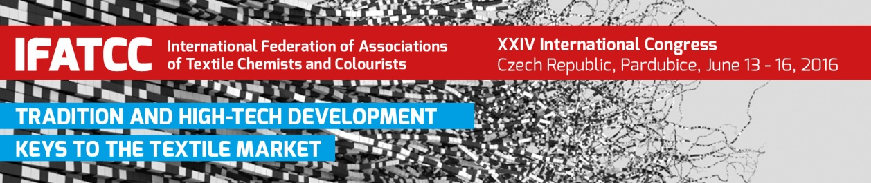 XXIV IFATCC International Congress Pardubice, Czech Republic, 2016 June 13 – 16